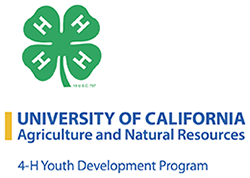 Logo of University of California 4-H Youth Development Program