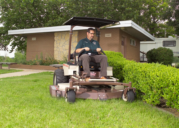 Grasshopper mower