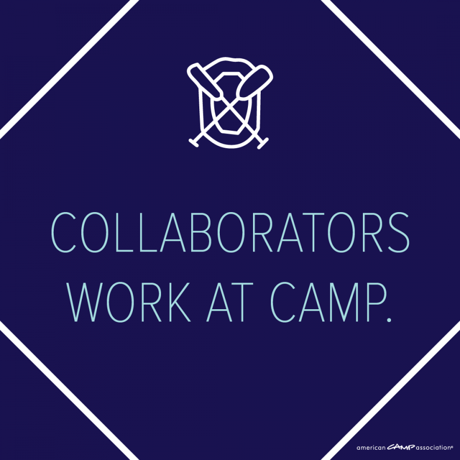 Download PNG - Collaborators Work at Camp