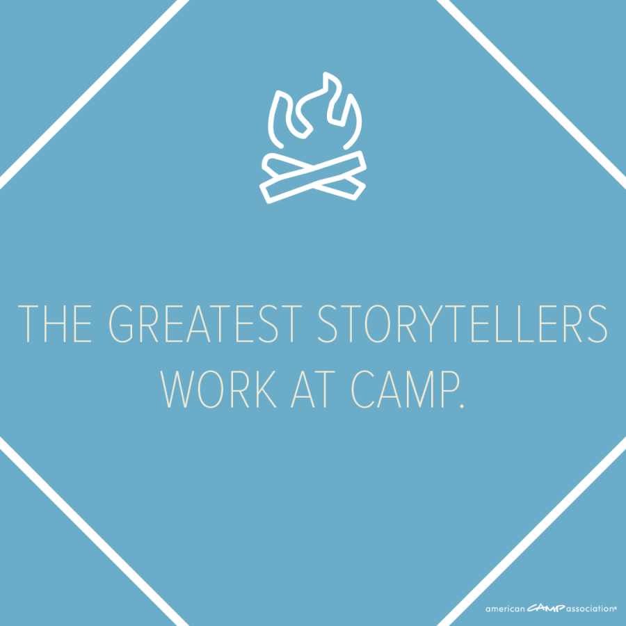 Download PNG - The Greatest Storytellers Work at Camp
