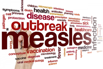 measles word cloud