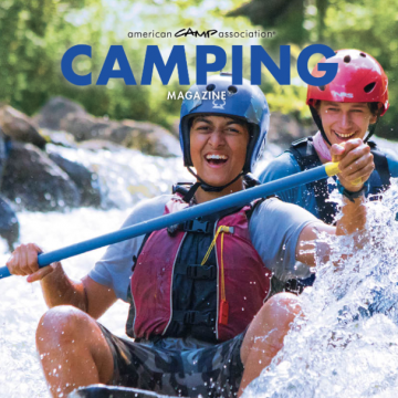cover of Camping Magazine