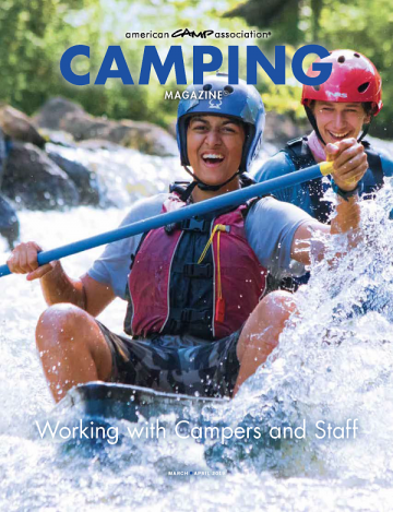 2019 March/April Camping Magazine cover