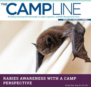 Winter issue cover with a bat on it.