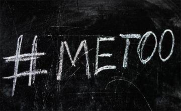 #METOO written on chalkboard