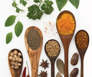 stock photo of spices and herbs