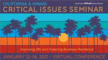 Critical Issues 2021 Virtual Seminar  logo